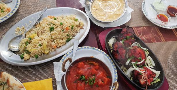indian cottage restaurante indiano comida indiana picante paço de arcos