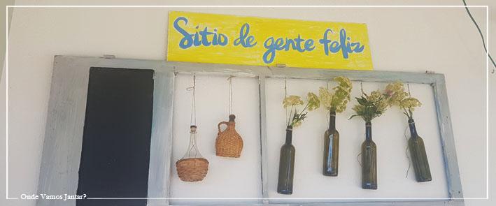 """SÍTIO DE GENTE FELIZ"""