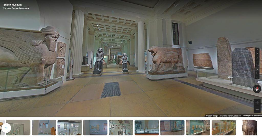 музеи-онлайн-экскурсии-британский-музей