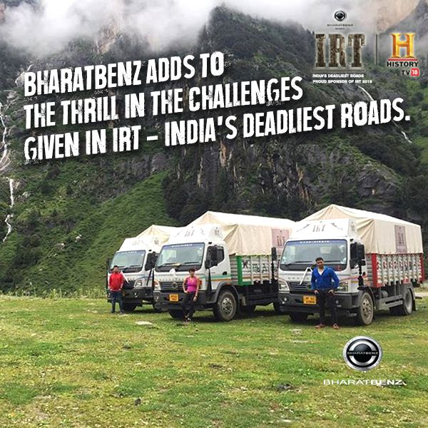 BharatBenz Trucks Ice Road Truckers