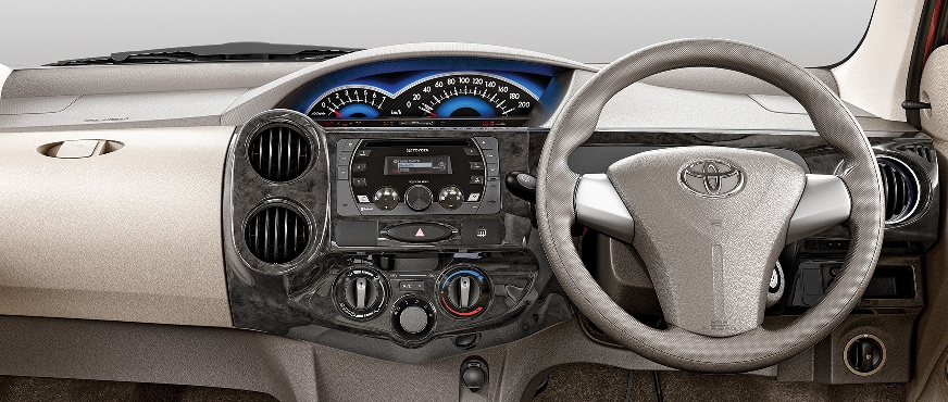 Toyota New Liva Dashboard