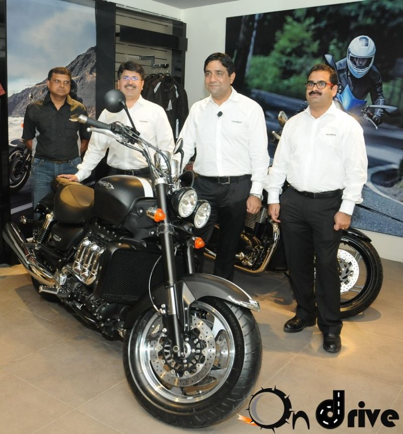 Triumph Motorcycles showroom Bangalore