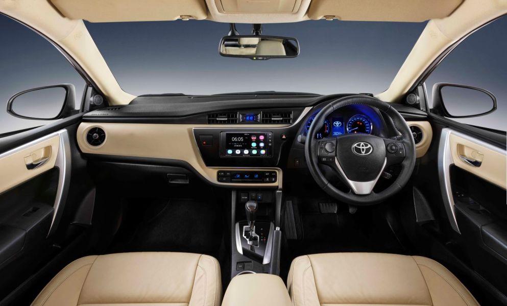 New Corolla Altis 2017