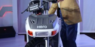 Hero RNT – Diesel Engine Concept Bike
