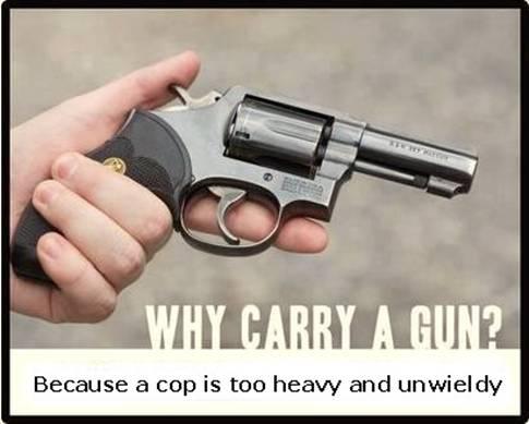 why carry a gun?
