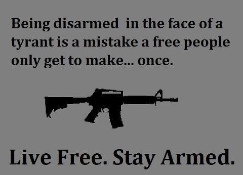 live free -- stay armed