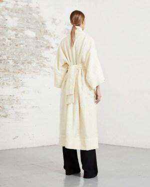 RionaTreacy Wool Kimono Coat