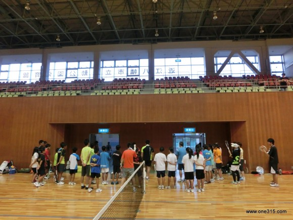ソフトテニス練習会・エナミ塾7 ヨネックス