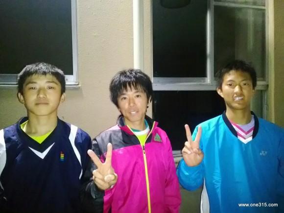 ソフトテニス練習会・エナミ塾2