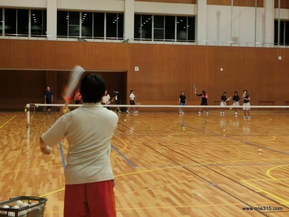 ソフトテニス練習会 2015.09.19