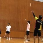 ソフトテニス練習会 2015.09.26 土曜日