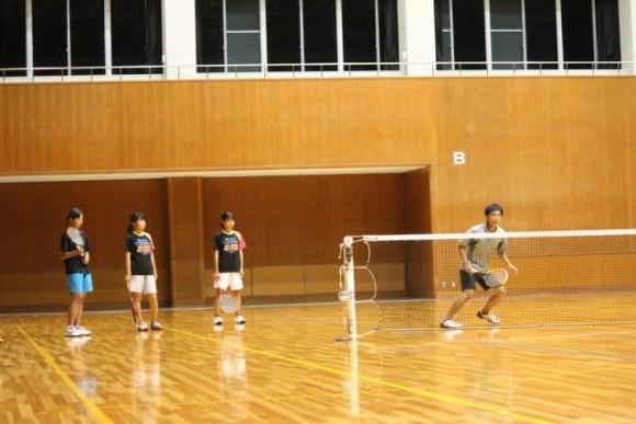 ソフトテニス練習会2015/10/17