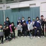 ソフトテニス個別練習会 2016/01/31 長浜ドーム