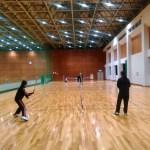 今日のone315練習会はフレッシュテニス(スポンジ)2016/04/22 金曜日