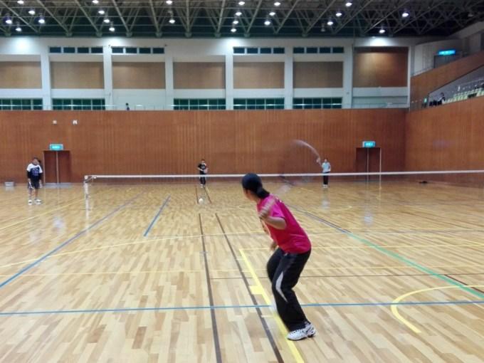 ソフトテニス練習会 滋賀県近江八幡市