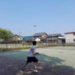 プラスワン・ソフトテニス練習会、草刈り 2016/05/21