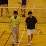 滋賀県東近江市インドアソフトテニス2013