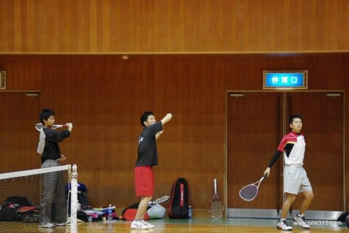 2013年度 第一回ソフトテニスDoublesぷち大会