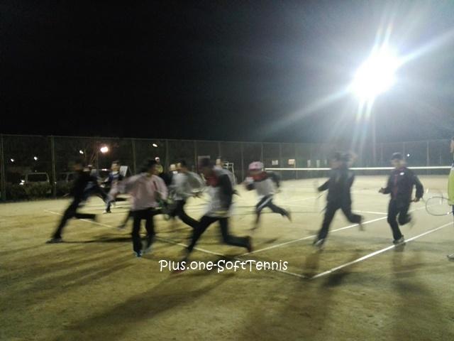 ソフトテニス講習会・間庭塾 in滋賀県守山市 2016/12/09(金)