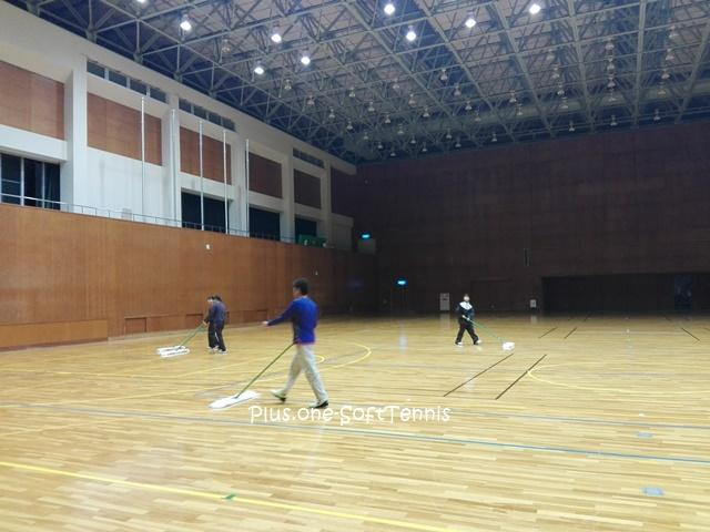 ソフトテニス練習会 2017/01/10(火)