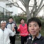 ソフトテニス練習会 2017/01/11(水)