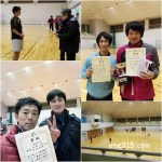 滋賀県東近江市インドアソフトテニス2017