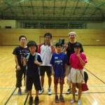 2017/08/14(月)夜間 フレッシュテニス@滋賀県近江八幡市