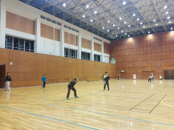 2017/11/21(火) ソフトテニス練習会@滋賀県近江八幡市