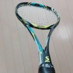 2017/12/07(木)ソフトテニスラケット【スリクソンX200V/ヨネックスVアクセル】を買いました。