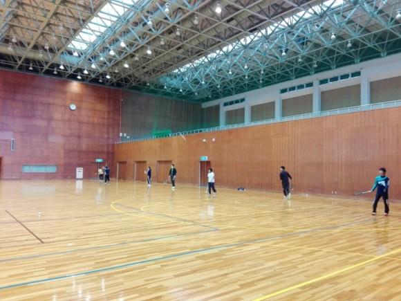 2018/01/04(木) プラスワン・ソフトテニス練習会・初打ち会