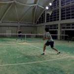 2018/05/06(日) プラスワン・ソフトテニス練習会から延長でボレーボレーとシングルス[動画]