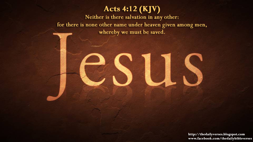 Image result for Acts 4:12