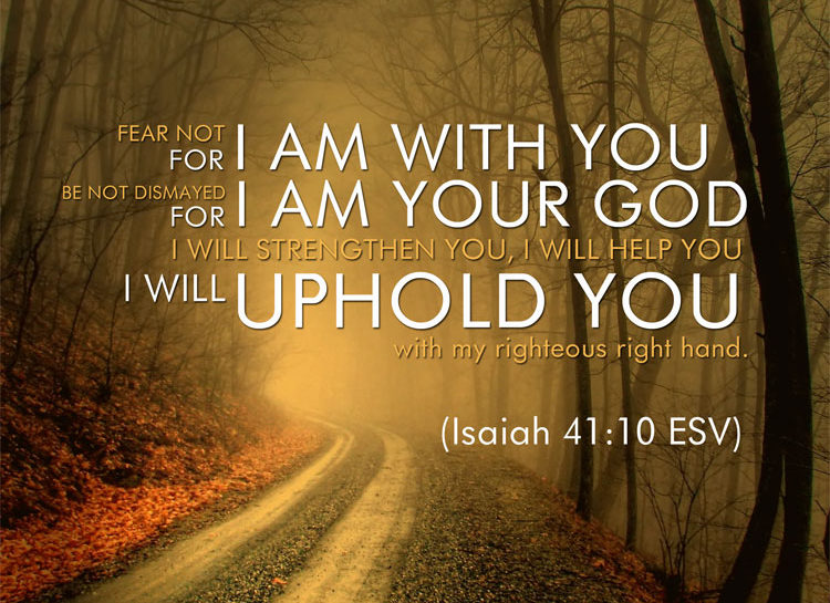 Image result for Isaiah 41:10