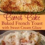 Peach Cobbler Baked French Toast with Vanilla Blackberry ...