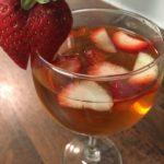 Strawberry Cake Sangria