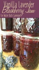 vanilla lavender blackberry jam