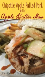 chipotle apple pulled pork