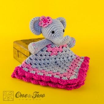 Carolina Guzman | Elephant Security Blanket Crochet Pattern