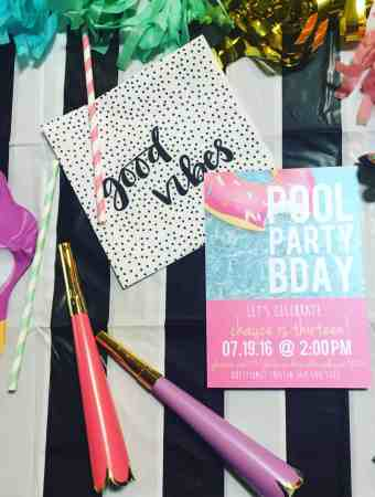 FREE PRINTABLE POOL PARTY BDAY INVITE