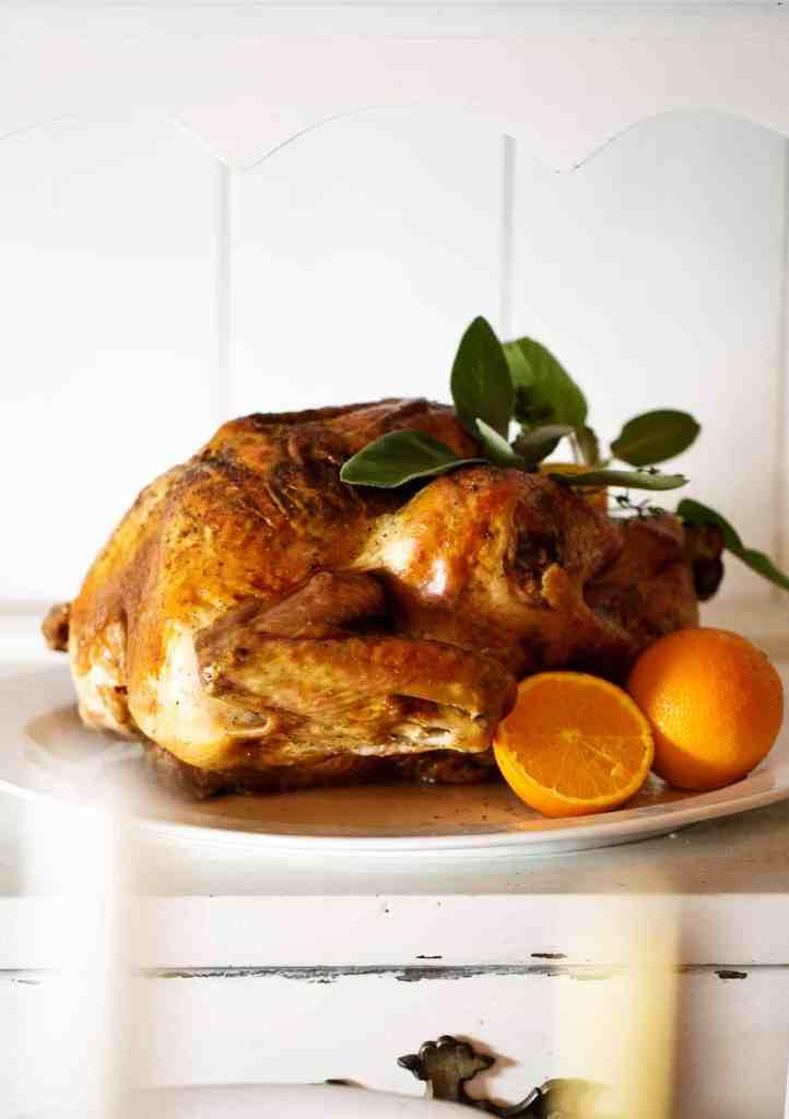 easy orange sage roast turkey #TurkeyDayTips #CollectiveBias Fall Wine and Pie Party