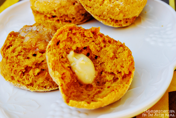 Yummy Pumpkin Scones for Autumn
