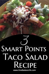 Taco Salad Recipe 3 Weight Watchers Smart Points