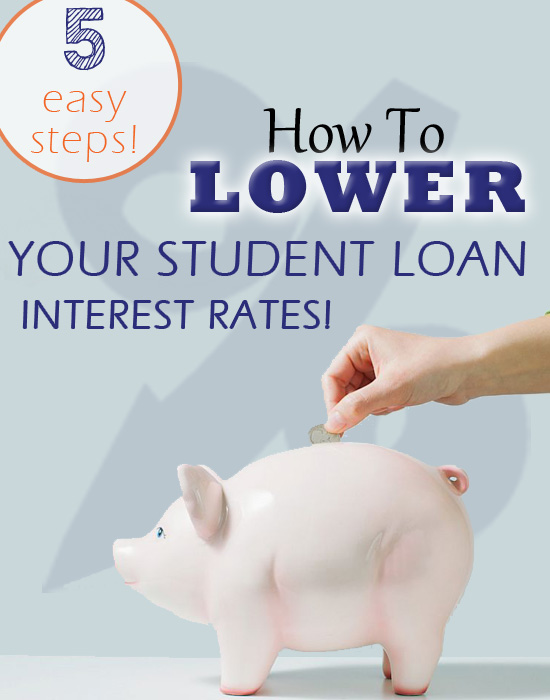 Lower your student loan interest rates