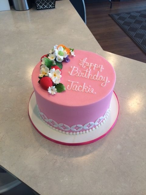 Young Women Birthday Cakes