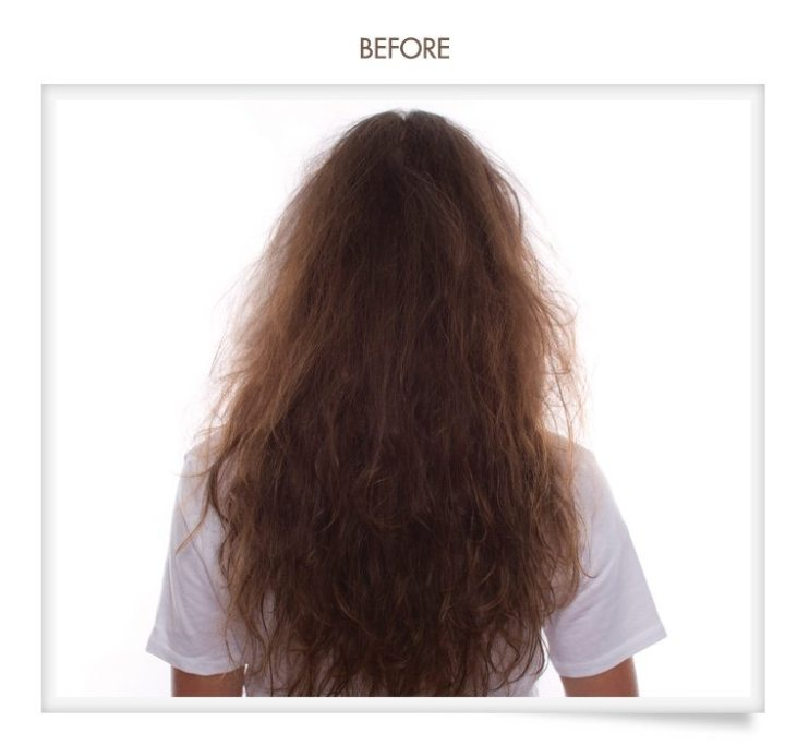oneblowdrybar hair treatment brazilian blowout before & after pictures