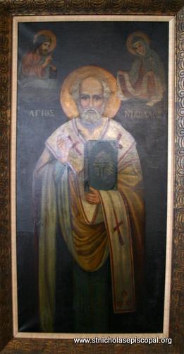 Icon of St Nicholas