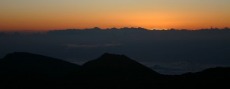 The Light Coming Into The World, Haleakala