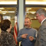 Pat Kalicki, Douglas VanHouten, and Robert DeHaven share a laugh