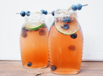 CPK Blueberry Ginger Cocktail Copycat