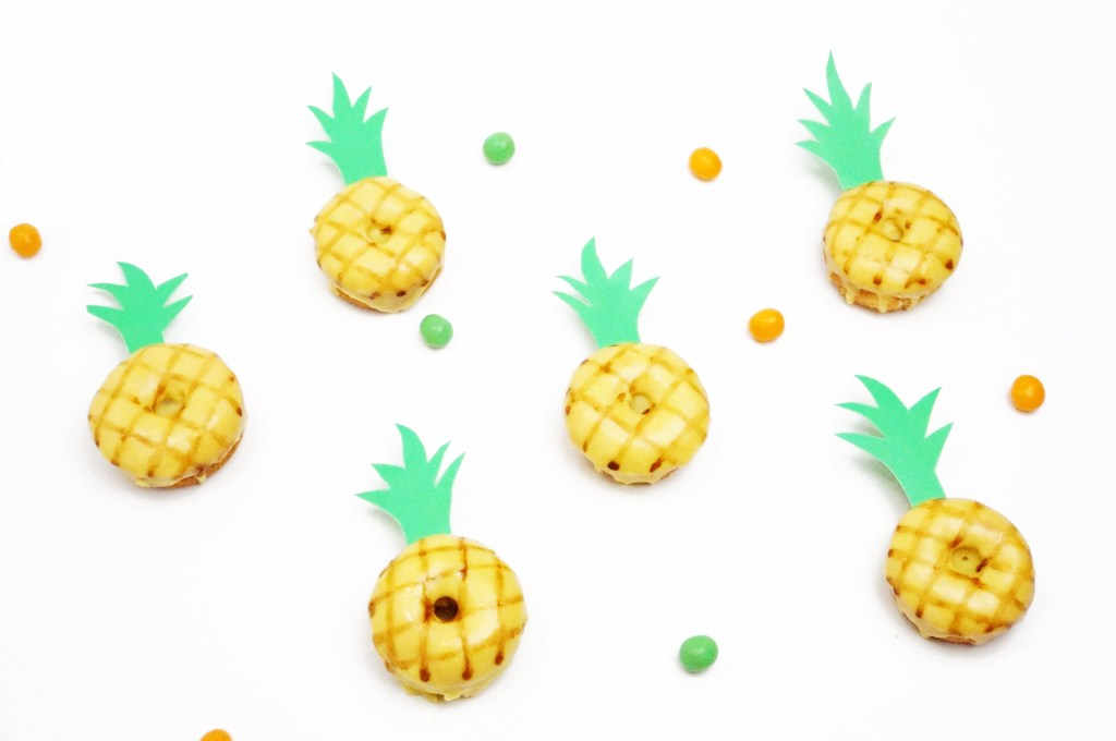 DIY Pineapple Donuts www.onebroadsjourney.com